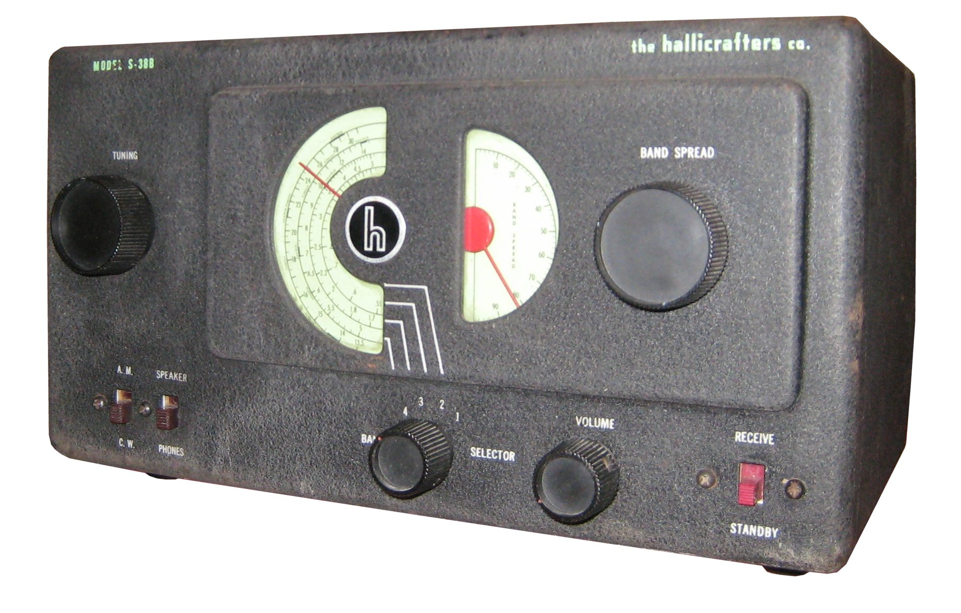 Hallicrafters S38