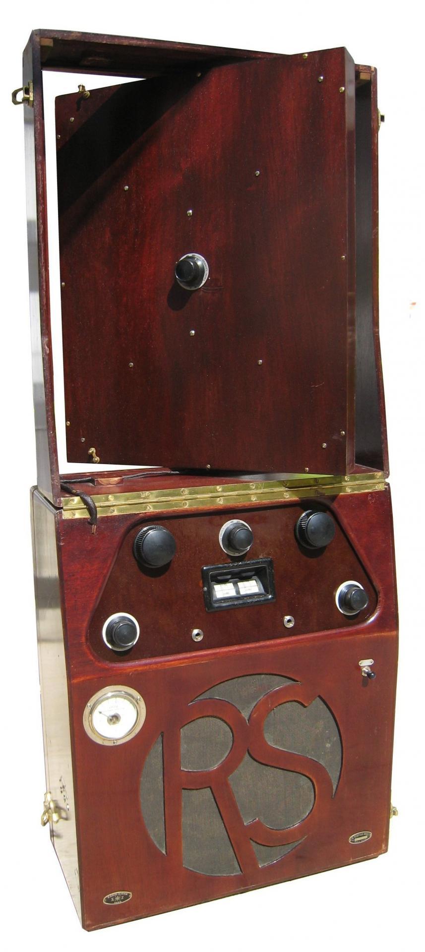 Radio Sigma (~1929) Le poste mobile