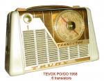 TEVOX 1958 6 tr.