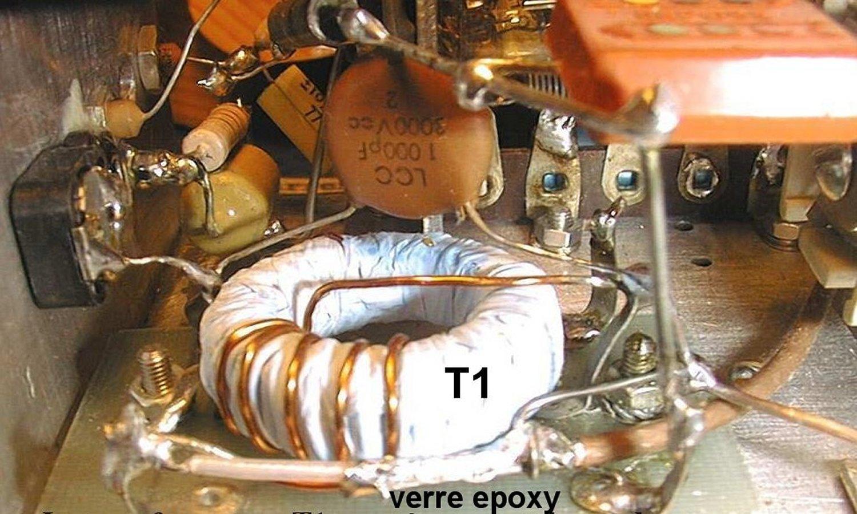 Figure 11 transformateur de sortie hf t1