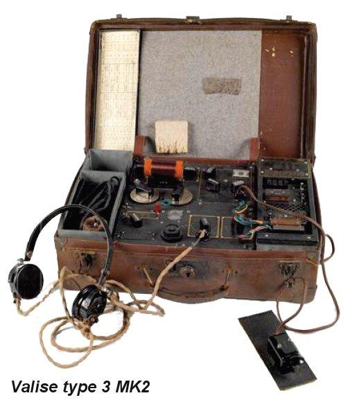 Figure 13b valise type 3 mk ii et accessoires