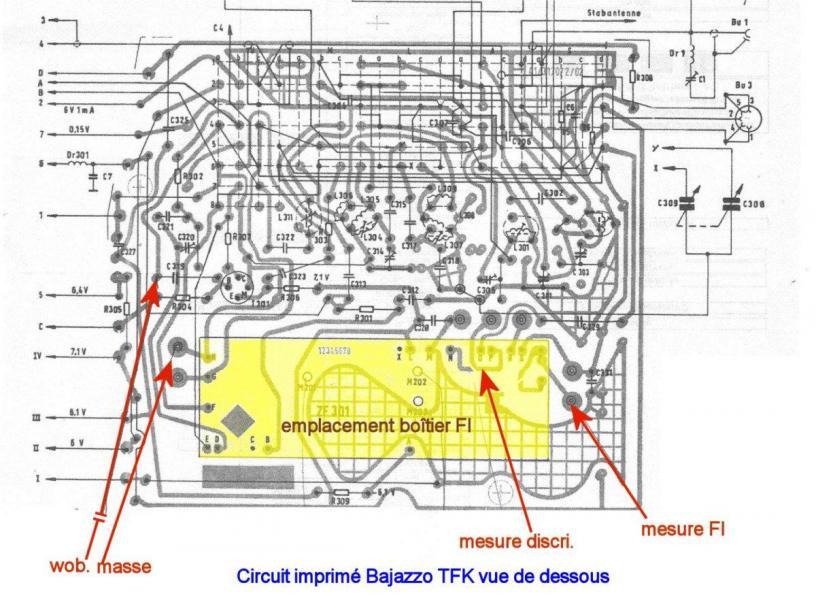 Figure 17 circuit imprime vue de dessous du bajazzo tfk