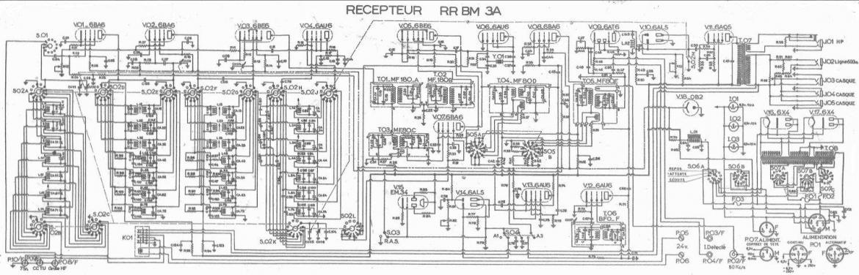 Figure 2 schema electrique du rx