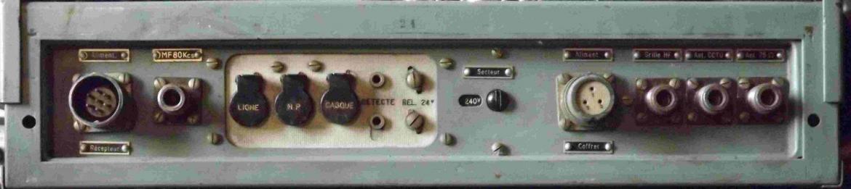 Figure 4 connectique a l arriere
