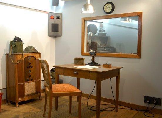 Figure 4 reconstitution studio bbc musee radio france
