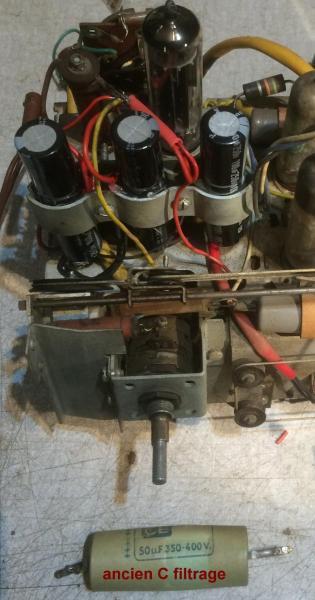 Figure 6 condensateurs remplaces
