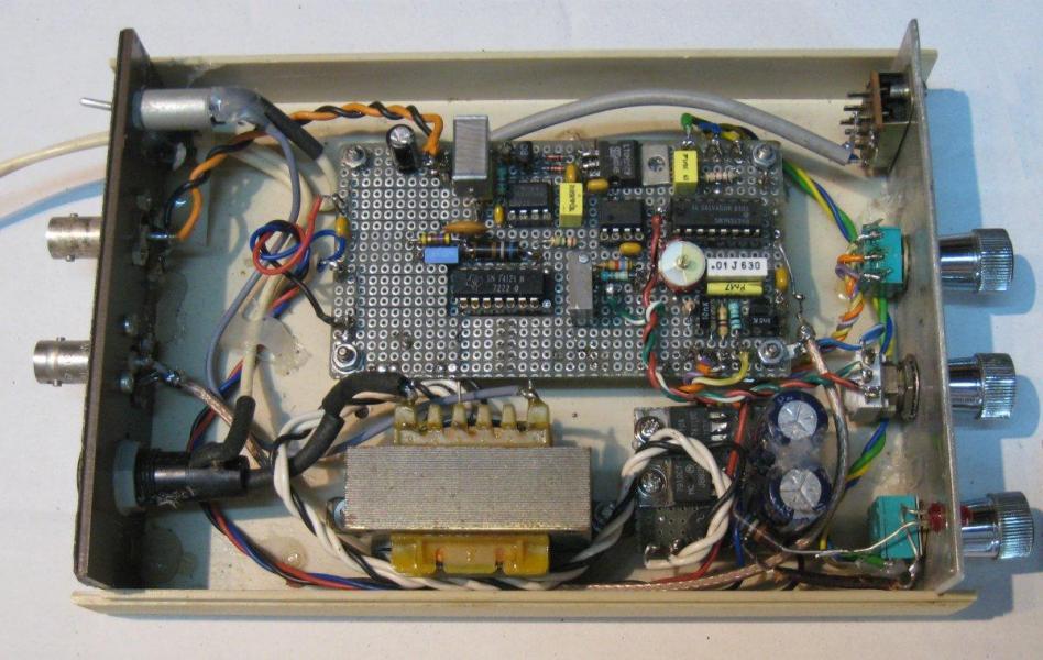 Figure 8 le circuit du vobulateur