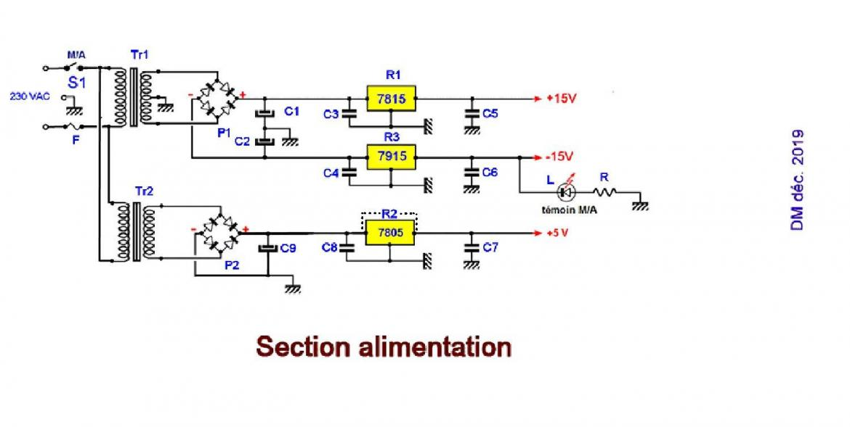Figure 8 schema des alimentations