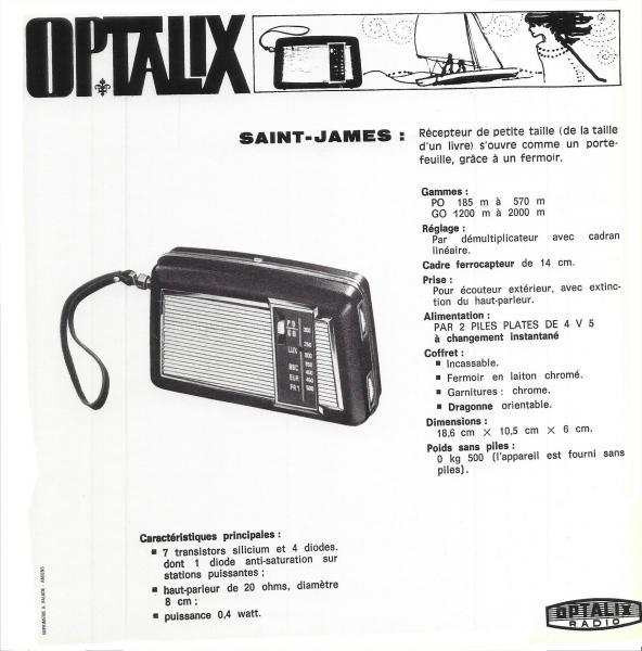 Optalix saint james
