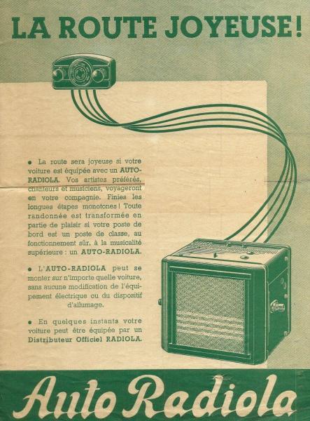 Radiola auto 1