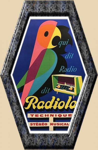 Radiola perroquet 2