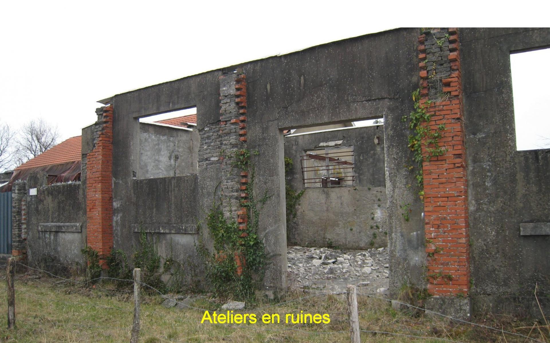 Ruine des ateliers